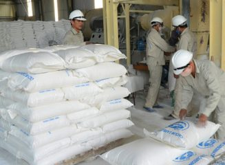 Bringing a superfine Caco3 stone powder factory with a capacity of 30,000 tons / year into operation